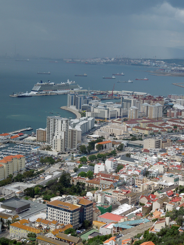 view from the Rock of Gibraltar
