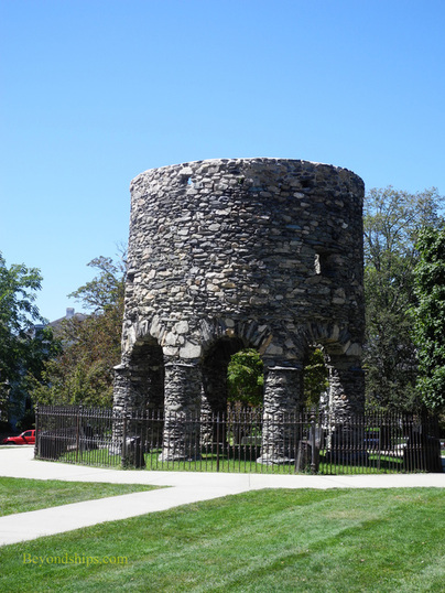 Picture Newport, Old Stone Tower