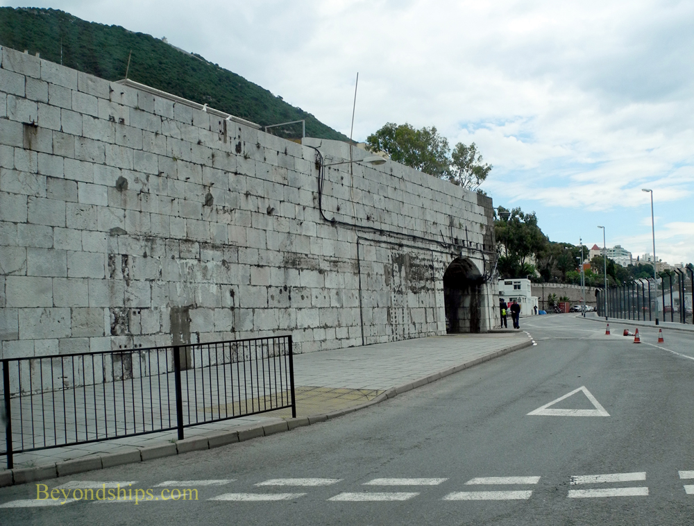 Gibraltar city wall