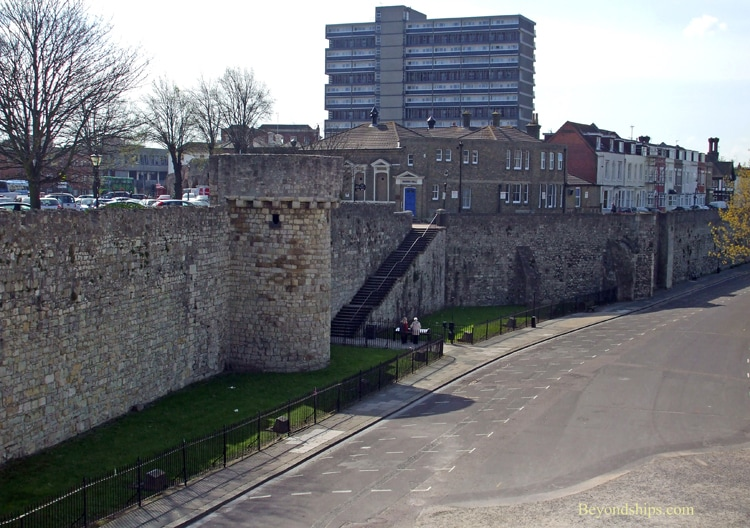 Southampton, England, city walls