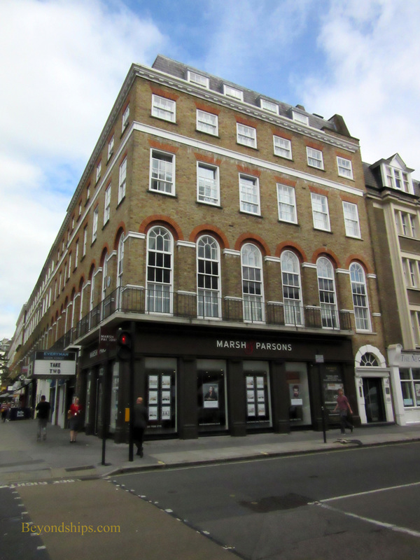 Site of Apple Boutique, Baker Street, London