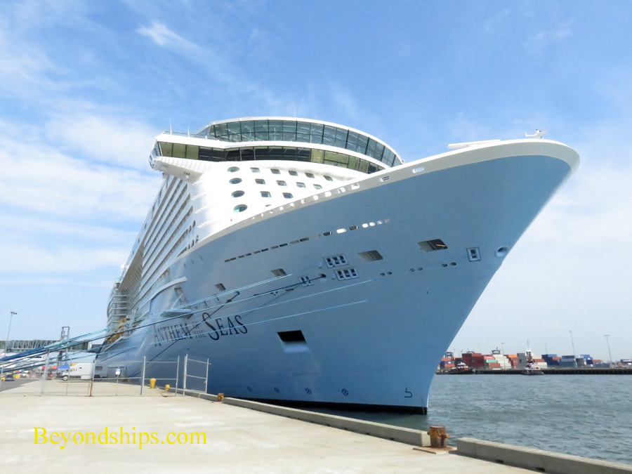 Anthem of the Seas at Cape Liberty cruise port