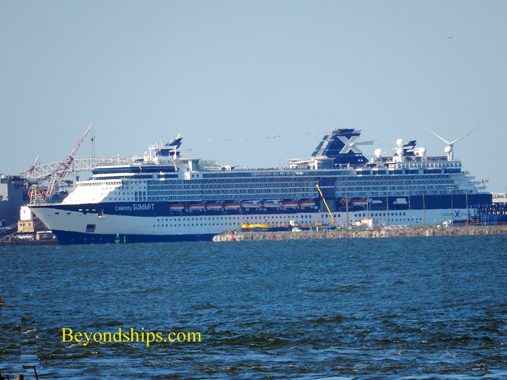 Celebrity Summit at Cape Liberty cruise port