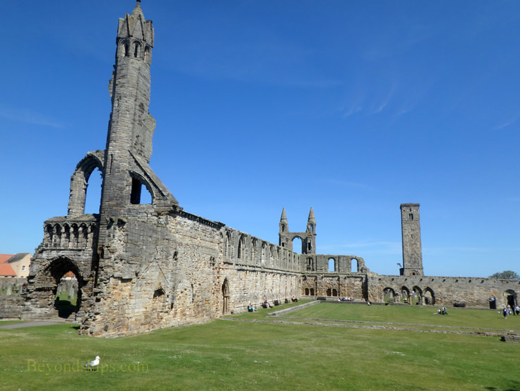 Cathedral of St. Andrew, St. Andrews, Scotland