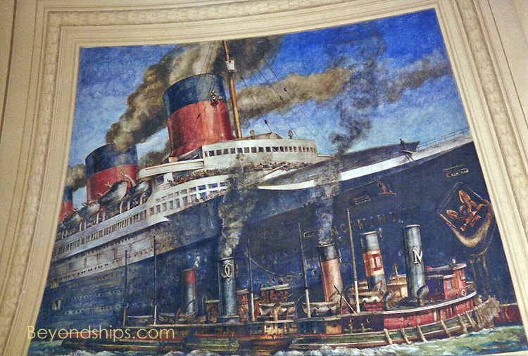 Mural at the Customs House, New York City