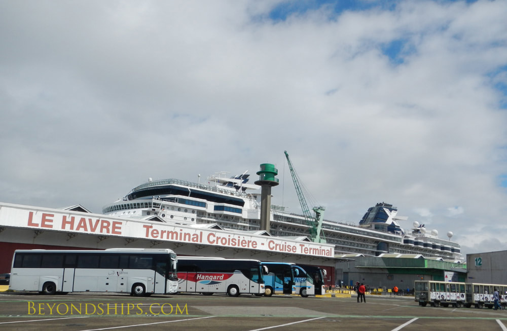 Cruise terminal, Le Havre, France