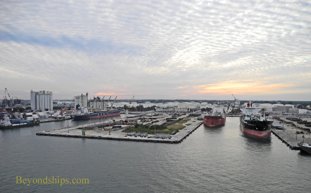 Port Everglades commercial harbor