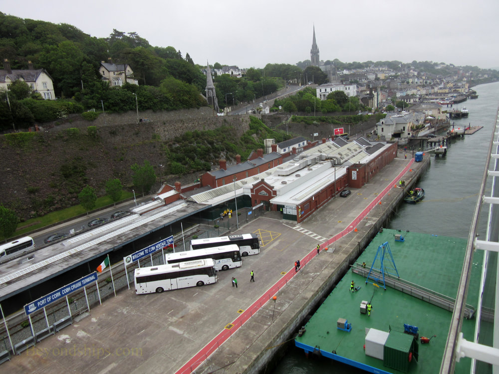 Cruise ship terminal, Cobh, Ireland