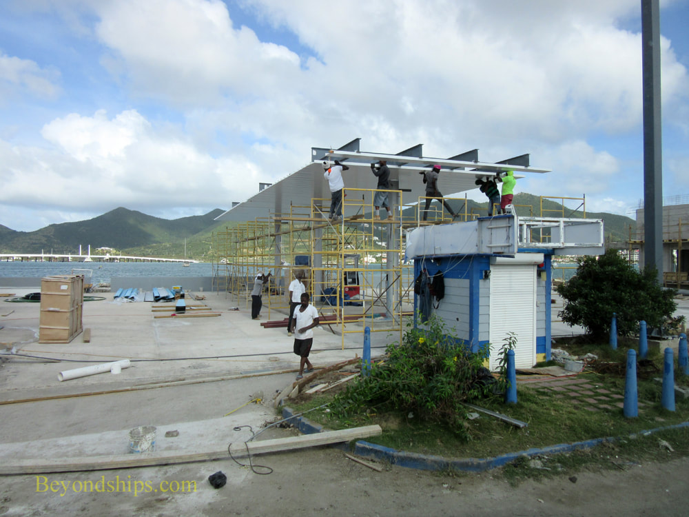 Reconstruction in St. Maarten