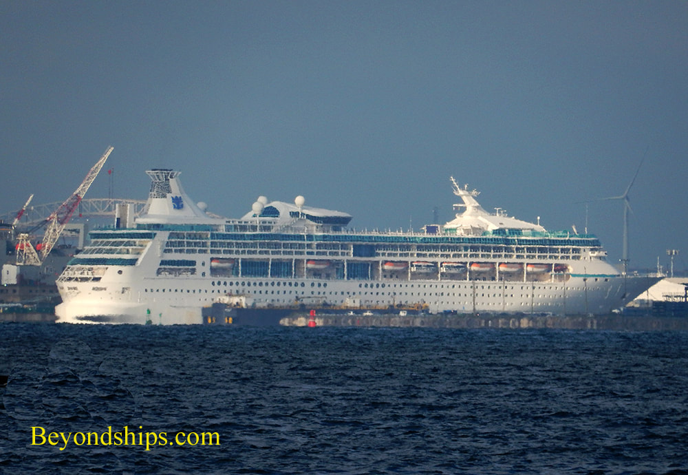 Vision of the Seas at Cape Liberty cruise port
