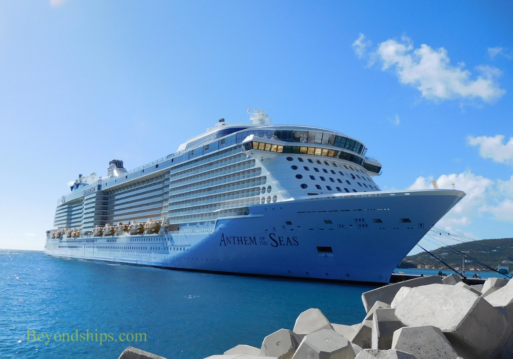 Anthem of the Seas in St. Maarten