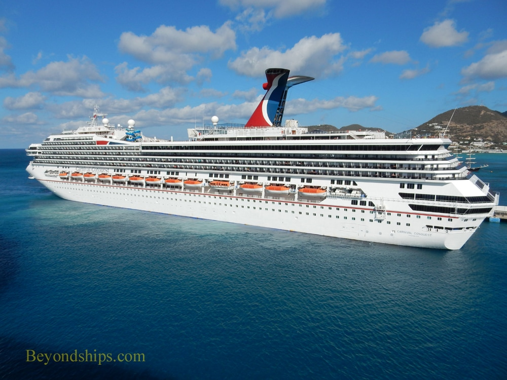 Carnival Conquest in St. Maarten
