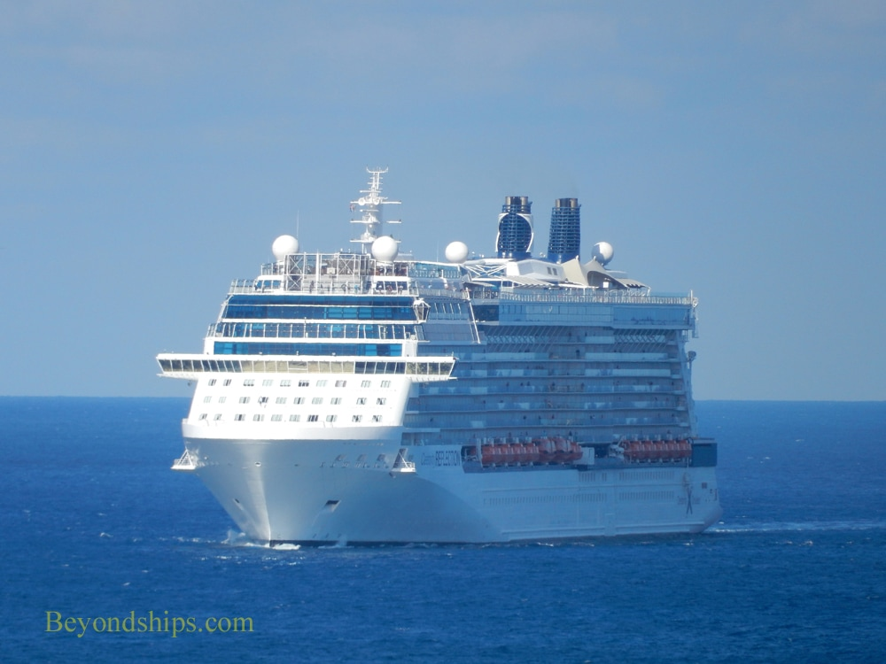 Celebrity Reflection in St. Maarten