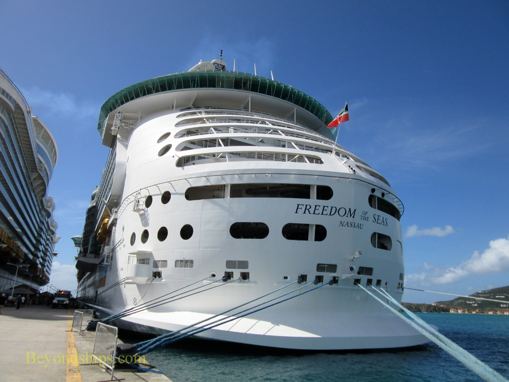 Freedom of the Seas in St. Maarten