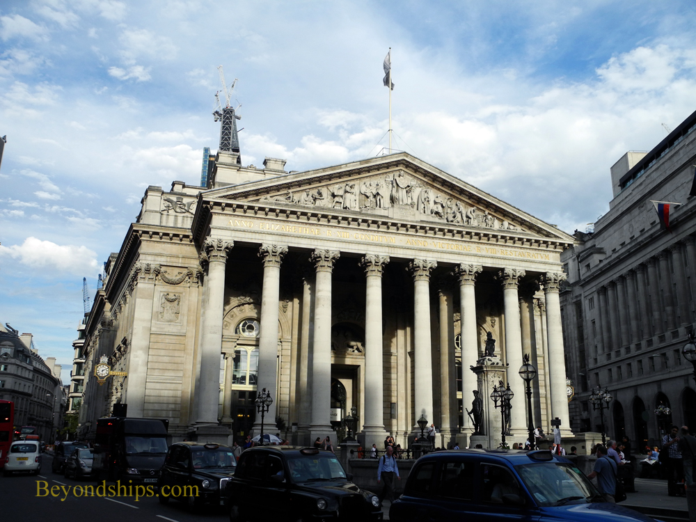 Royal Exchange, City of London