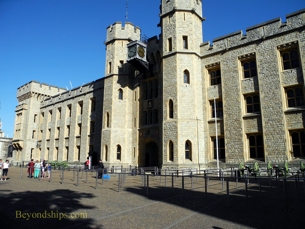 Waterloo Barracks in The Tower of London
