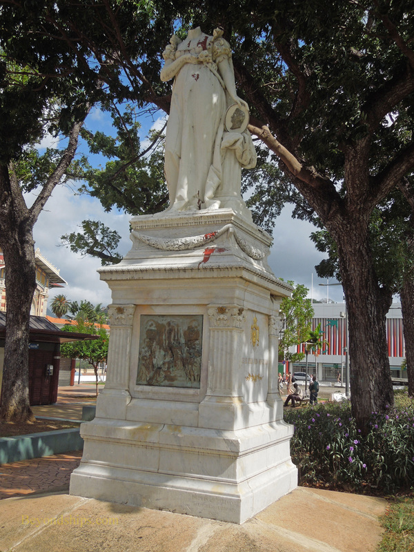 Empress Joesphine statue, Martnique