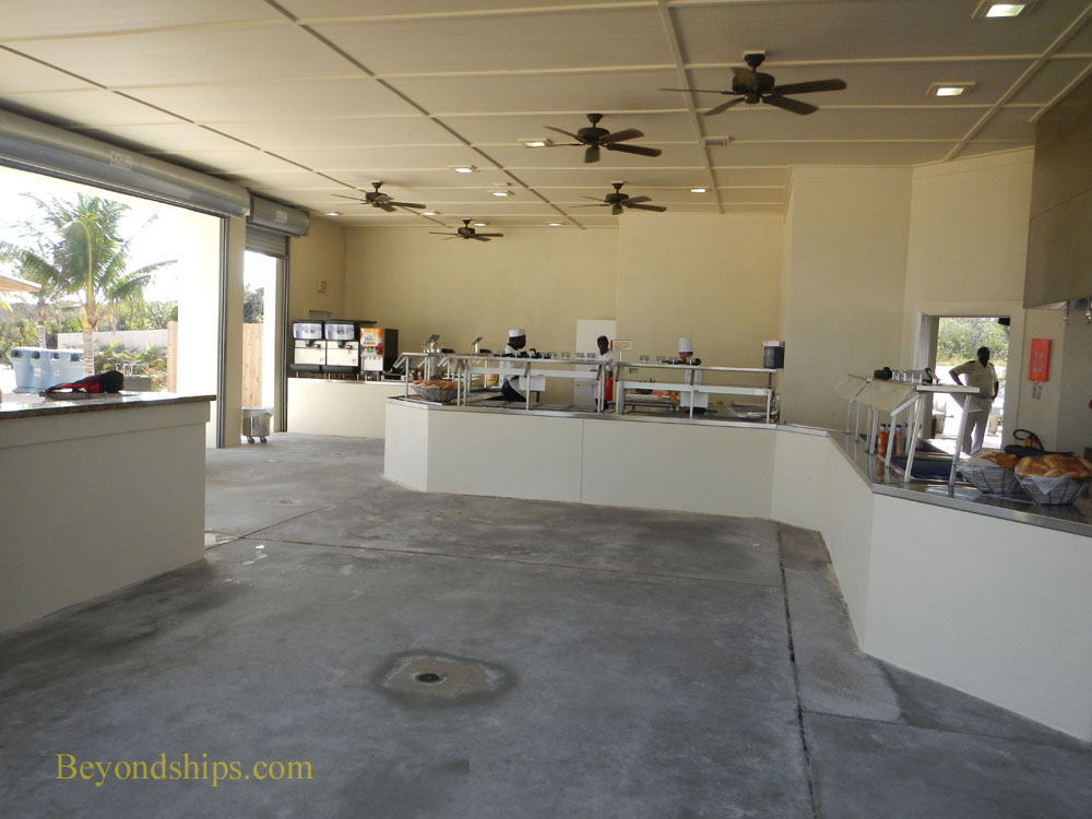 Great Stirrup Cay dining