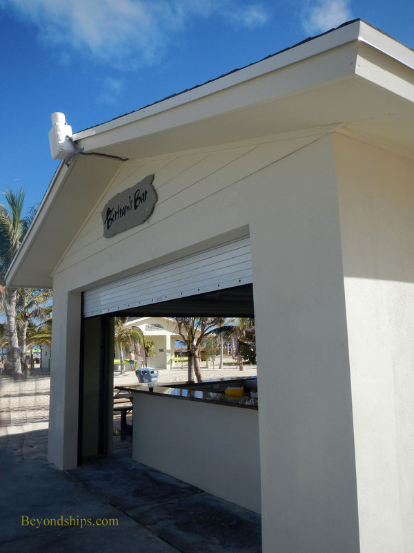 Great Stirrup Cay bar