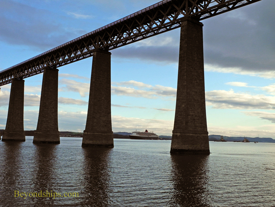 The Forth Rail Bridge near Edinburgh, Scotland