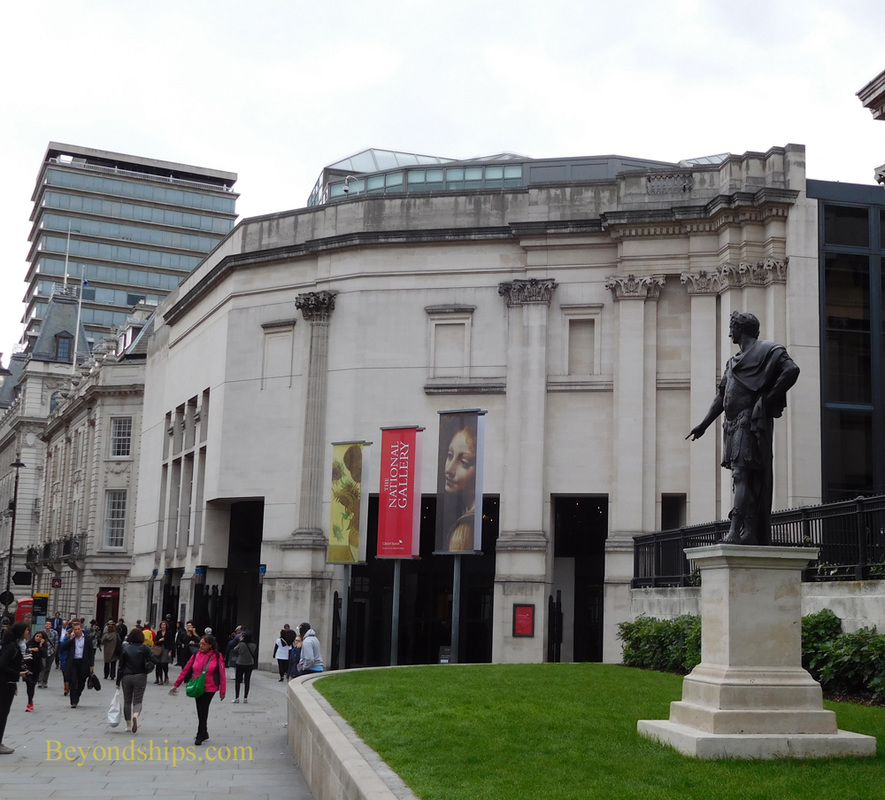 Sainsbury Wing, National Gallery, London
