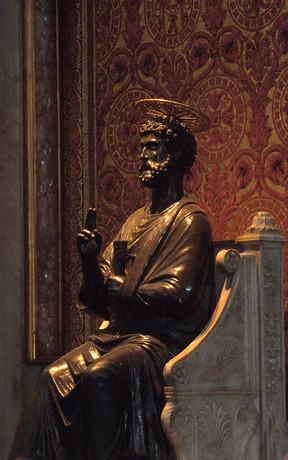 Statue of St Peter, St Peter's Basilica
