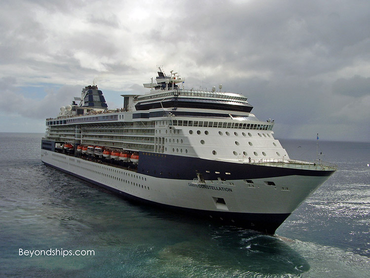 Celebrity Constellation in St. Kitts