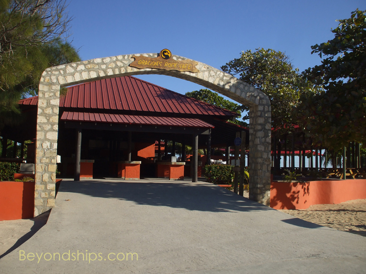 Dragon's Cafe, Royal Caribbean's Labadee
