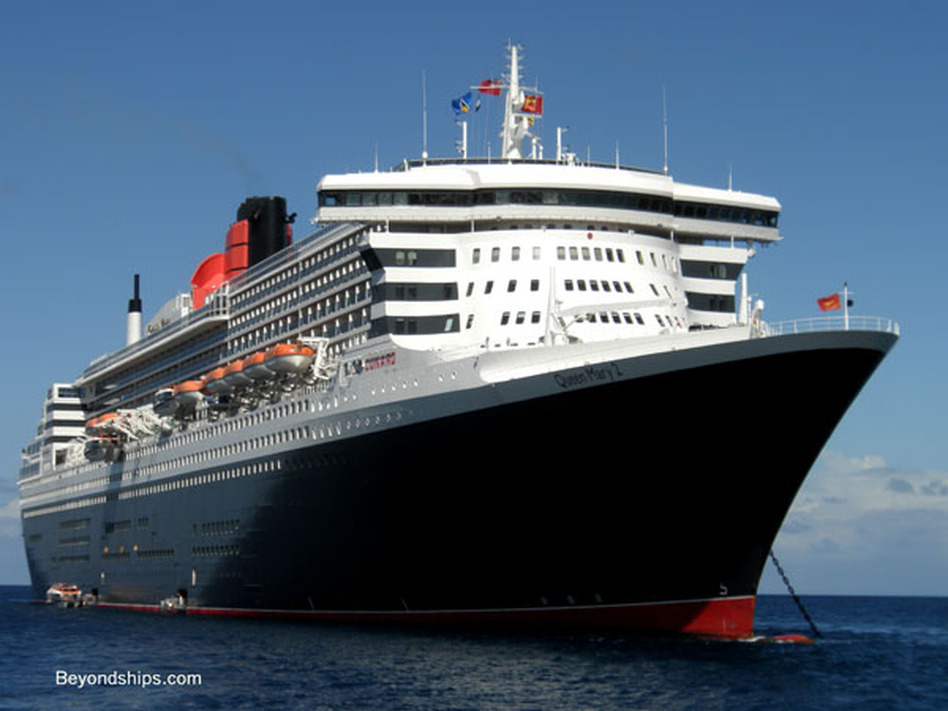 Queen Mary 2, St. Lucia