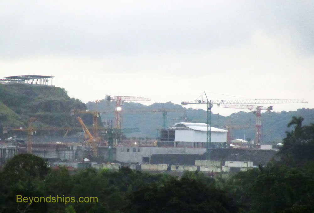 Consruction of new locks for the Panama Canal