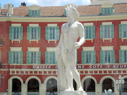 Statue of Apollo, Place Massena, Nice, France
