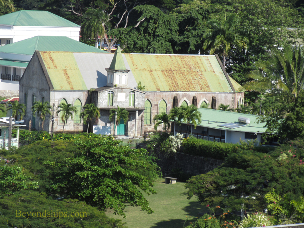 St Georges Church, Dominica