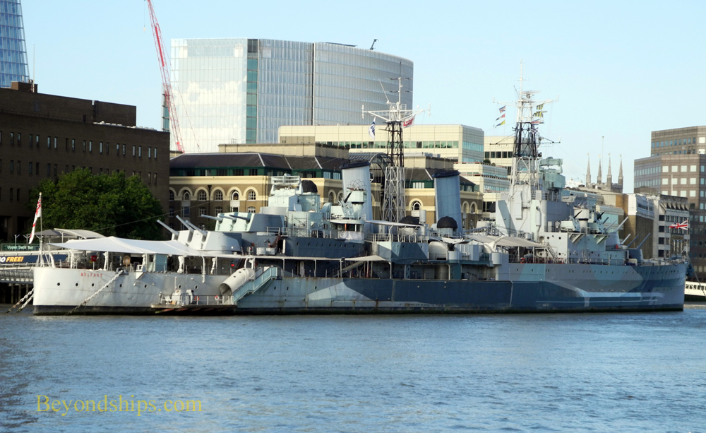 HMS Belfast, London, England