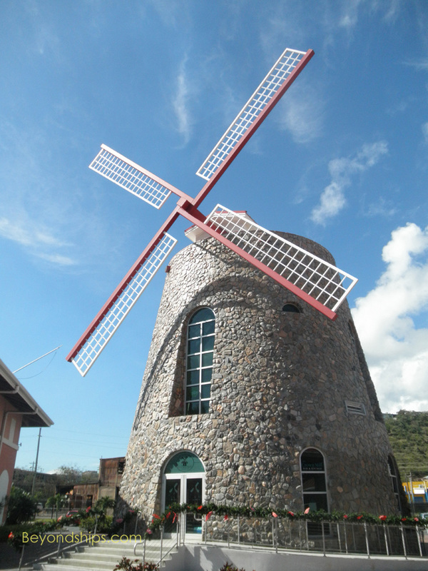 Windmill, Crown Bay, St. Thomas