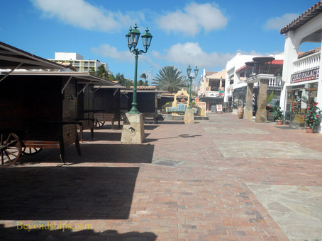 Shopping at Palm Beach Aruba
