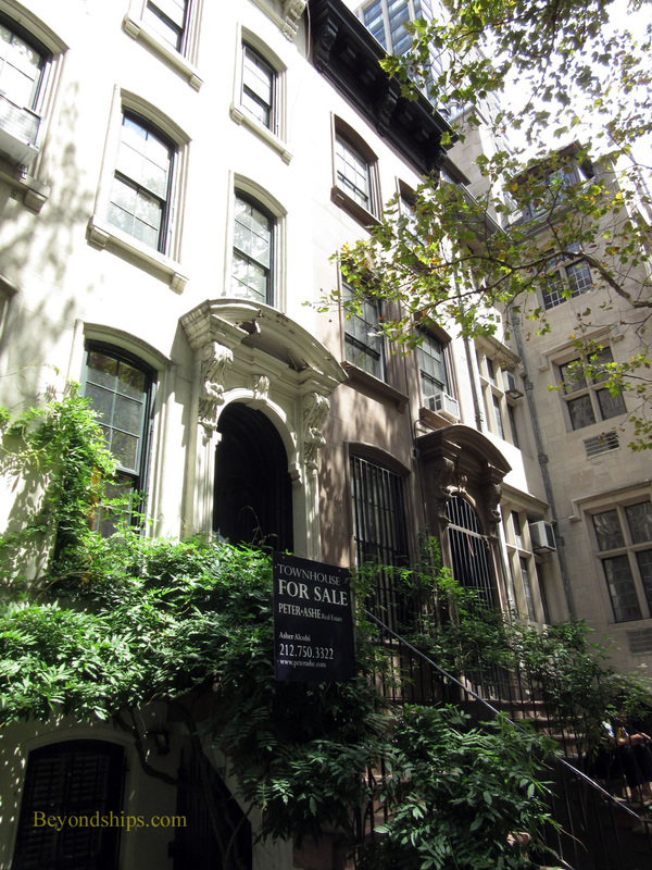Townhouse used as a location in Breakfast at Tiffany's