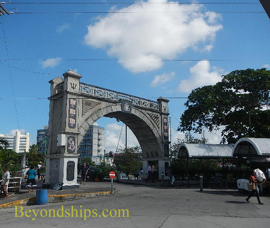 Independence Arch, Bridgetown, Barbados
