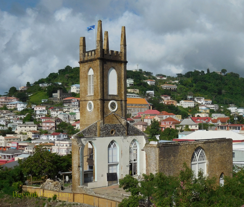 Anglican church, St George, Grenada