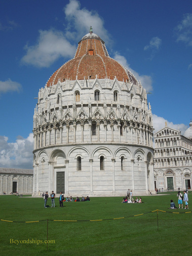 The Field of Miracles including the Leaning Tower of Pisa