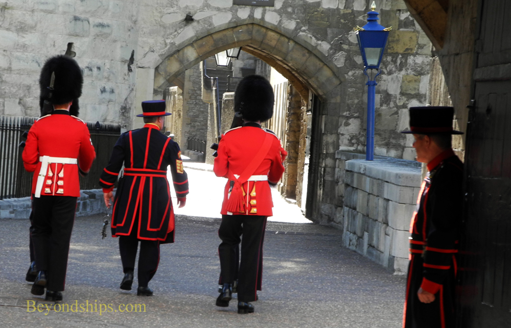 Beefeaters and Guards, Tower of London