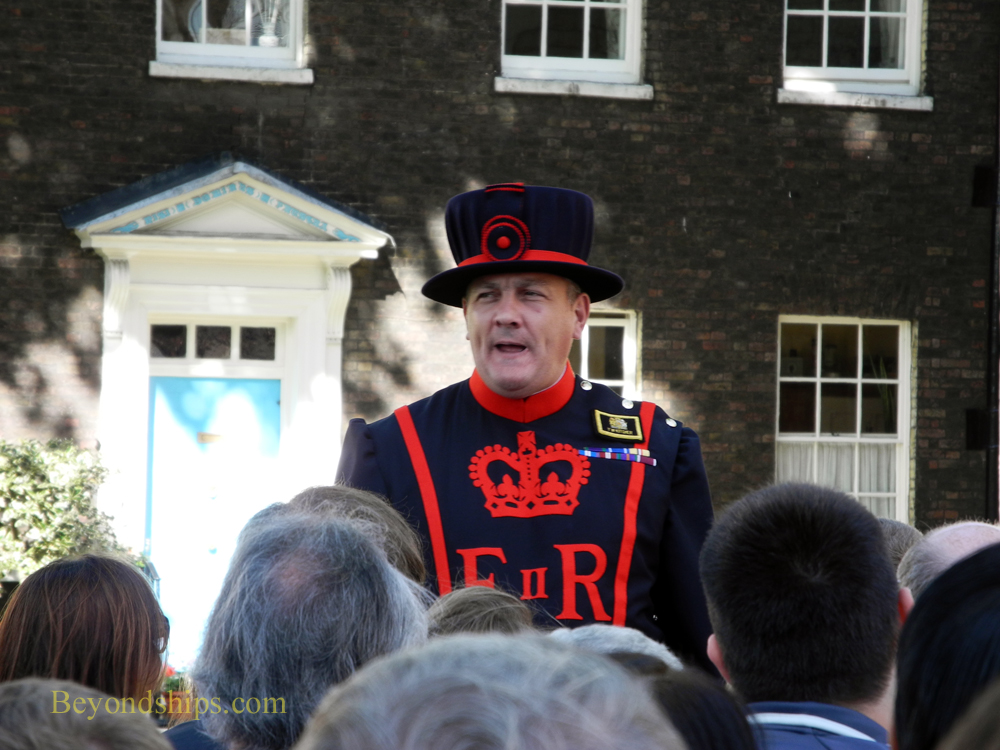 Yeoman Warder (Beefeeater) at The Tower of London