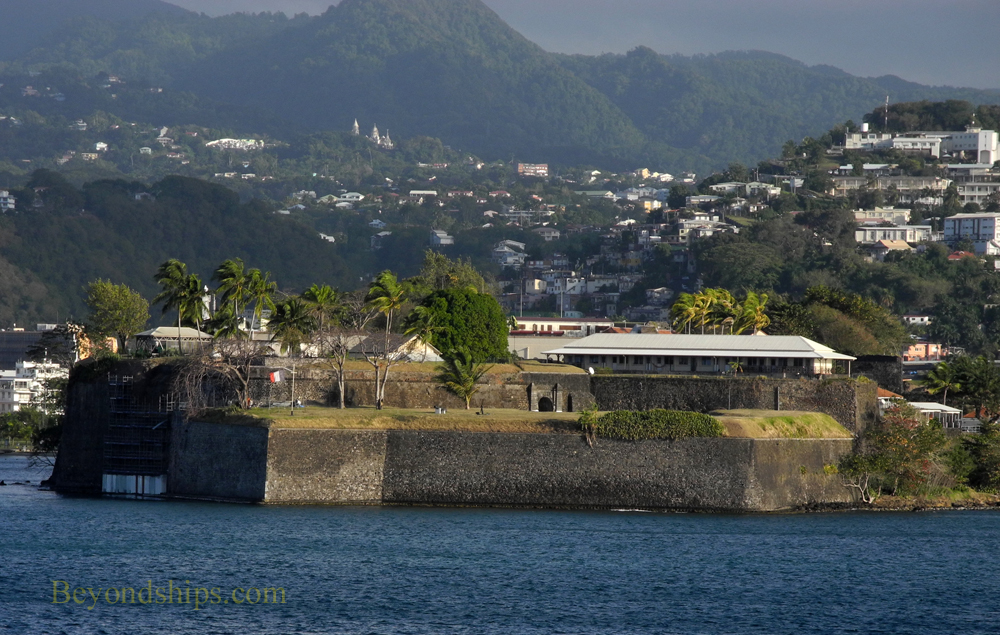 Fort St. Louis, Fort de France, Martinique