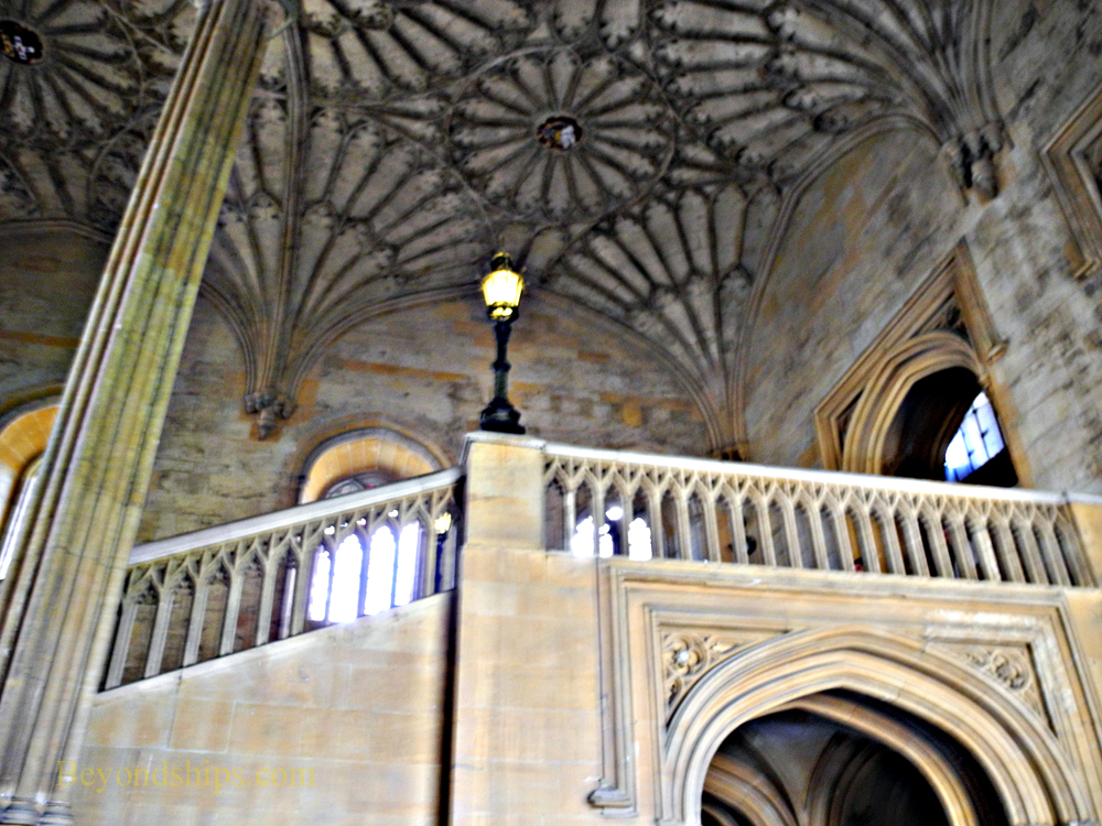 Great Hall Staircase, Christ Church College, Oxford University