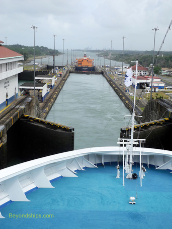 Island Princess in the Panama Canal