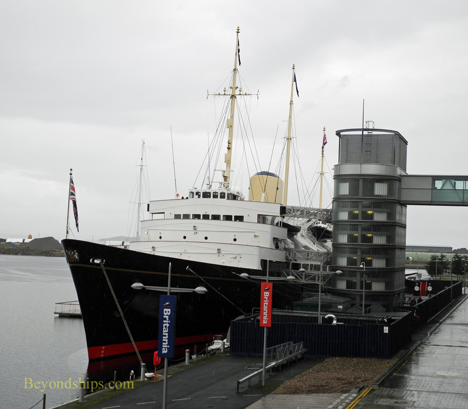 Picture Royal Yacht Britannia, Scotland