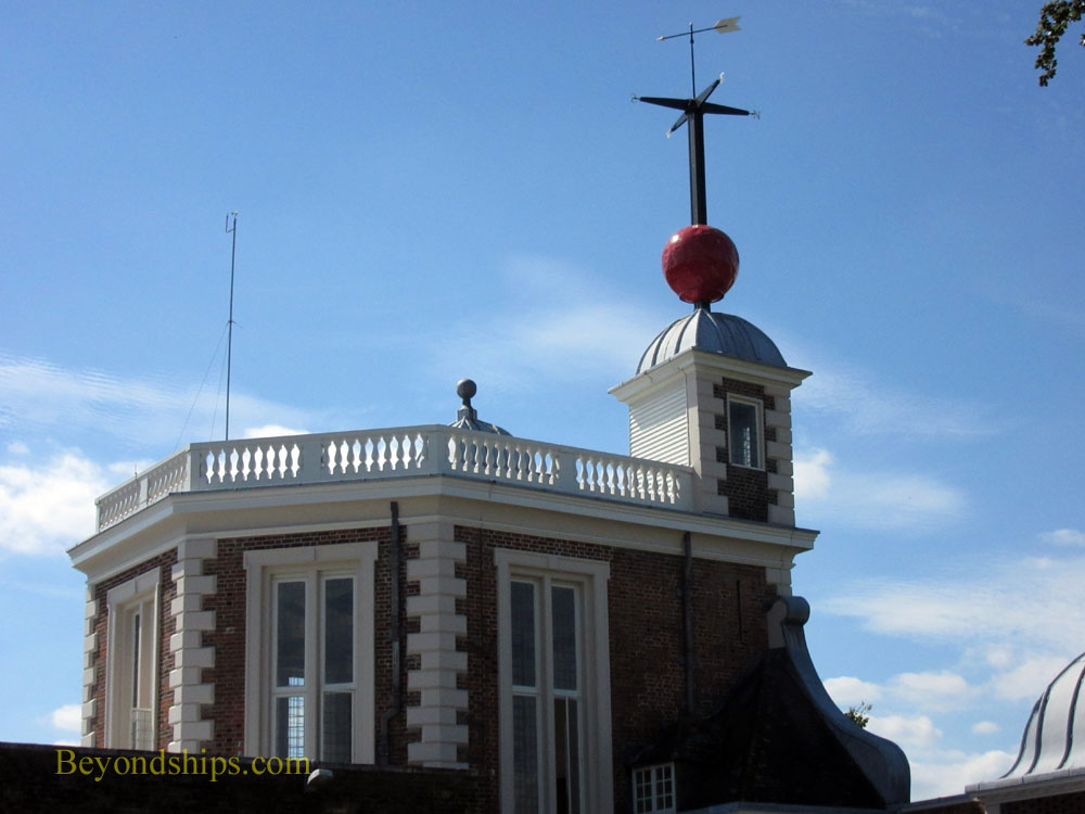 Octagonal Room and Time Ball, Flamsteed House, Royal Observatory, Greenwich