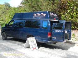 To the Top van, Horseshoe Bay, Bermuda