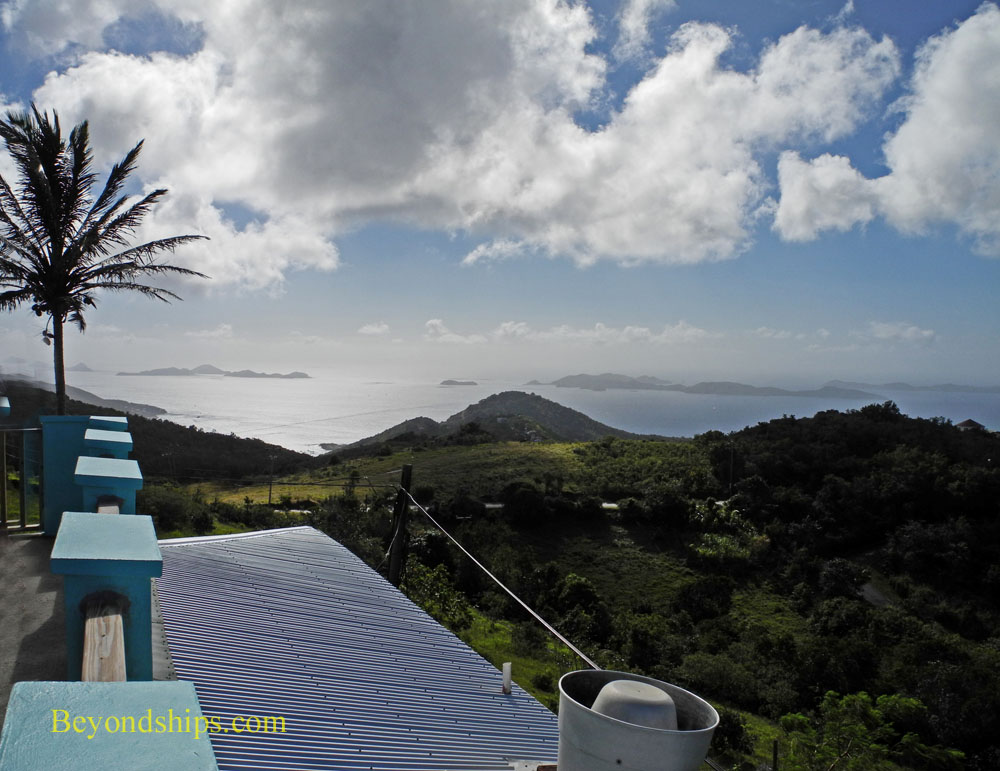 View from Skyworld, Tortola
