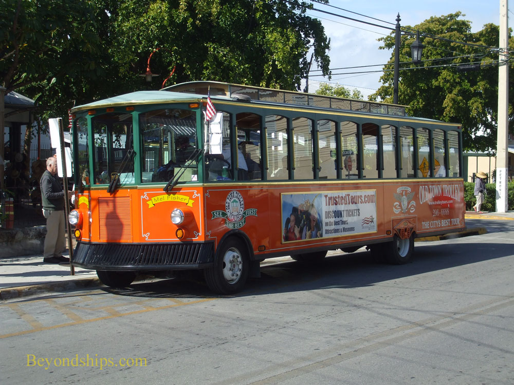 OldTown Trolley, Key West