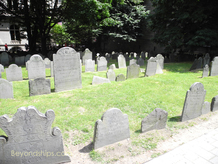King's Chapel Burial Grounds, Boston
